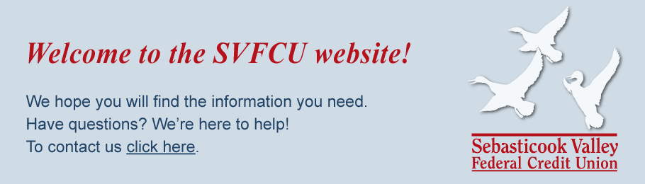 Welcome to the SVFCU Website!
